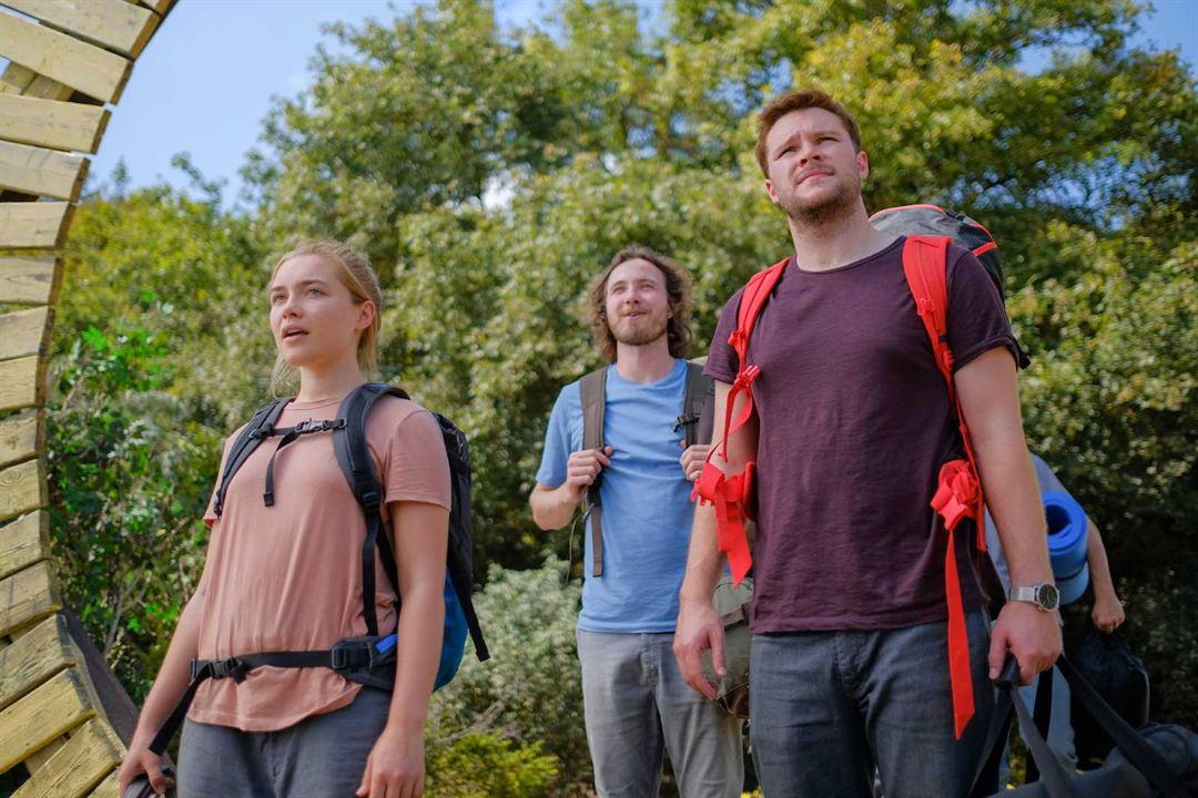 Midsommar : Bild Florence Pugh, Henrik Norlén, Jack Reynor