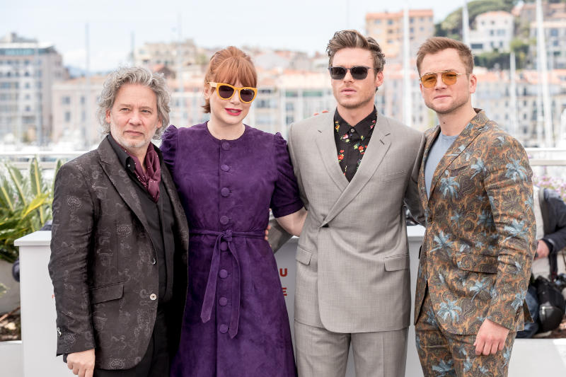 Rocketman : Vignette (magazine) Bryce Dallas Howard, Dexter Fletcher, Richard Madden, Taron Egerton