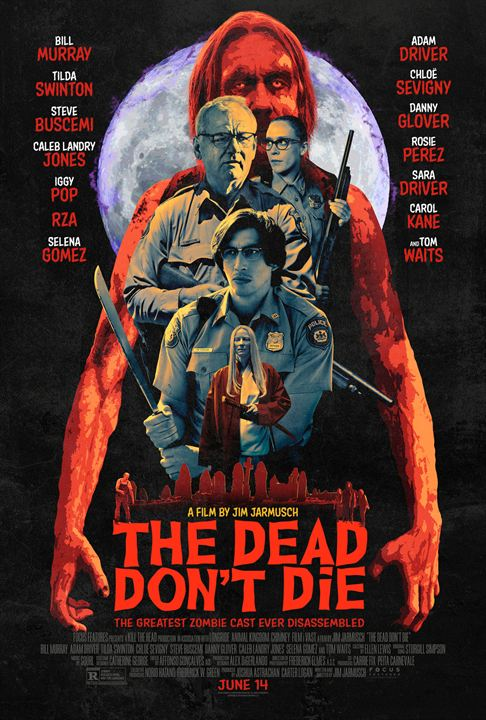 The Dead Don't Die : Kinoposter