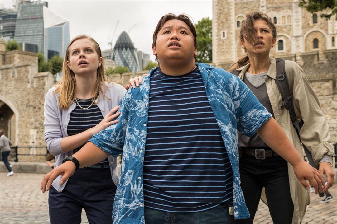 Spider-Man: Far From Home : Bild Angourie Rice, Jacob Batalon, Zendaya
