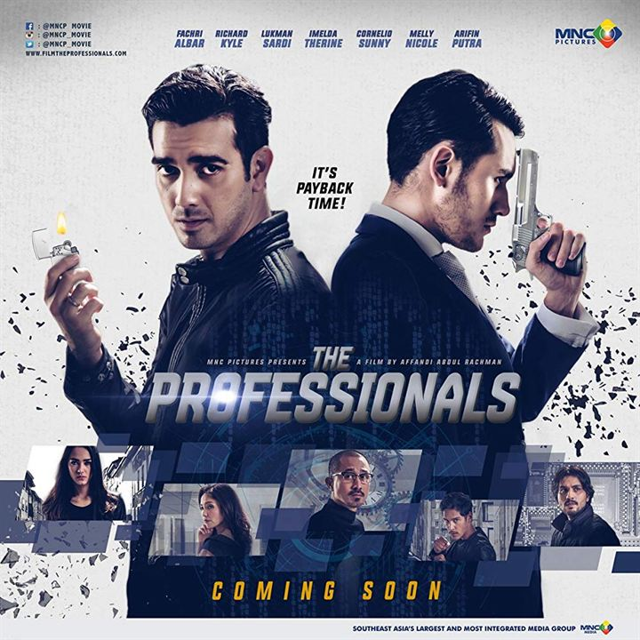 The Professionals : Kinoposter