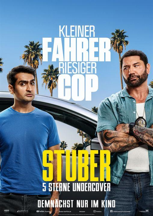 Stuber - 5 Sterne Undercover : Kinoposter