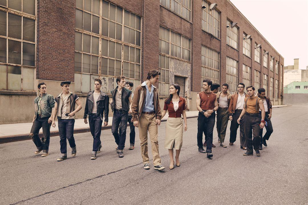 West Side Story : Bild Ansel Elgort, Ben Cook (XI), Carlos Sánchez Sánchez Falú, David Álvarez, Ezra Menas