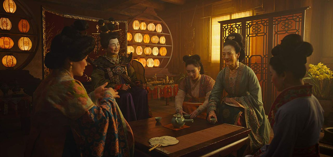 Mulan : Bild Pei-Pei Cheng, Rosalind Chao, Xana Tang, Yifei Liu