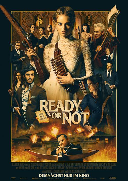 Ready Or Not - Auf die Plätze, fertig, tot : Kinoposter