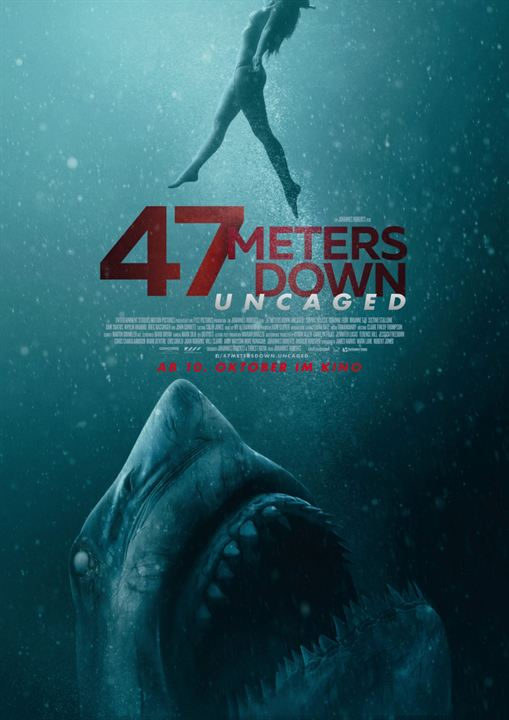 47 Meters Down: Uncaged : Kinoposter