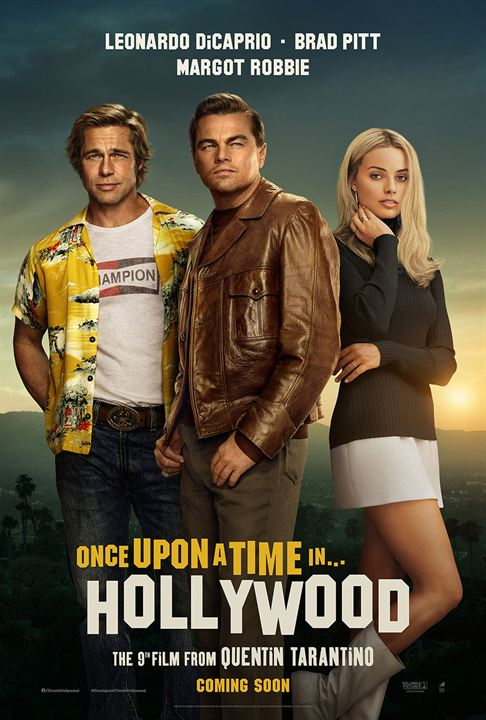 Once Upon A Time... In Hollywood : Kinoposter