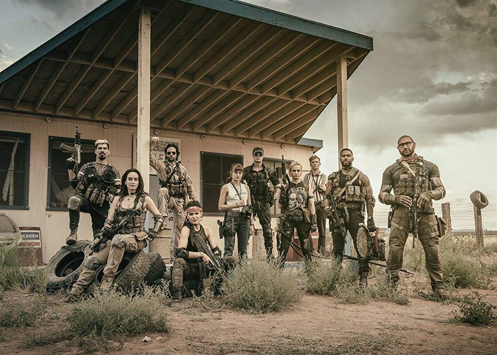 Army Of The Dead : Bild Dave Bautista, Ella Purnell, Garret Dillahunt, Raul Castillo, Samantha Win