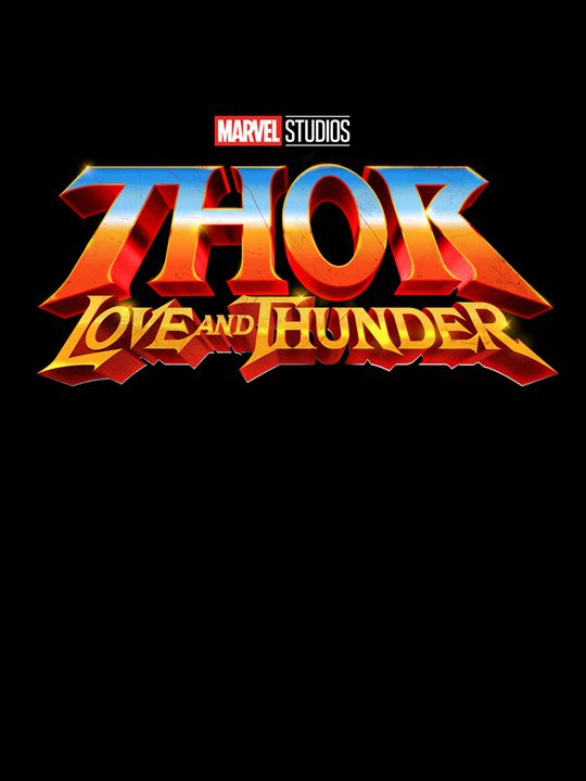 Thor 4: Love And Thunder : Kinoposter