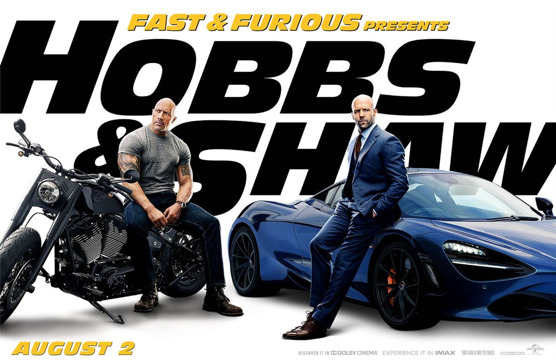 Fast & Furious: Hobbs & Shaw : Kinoposter