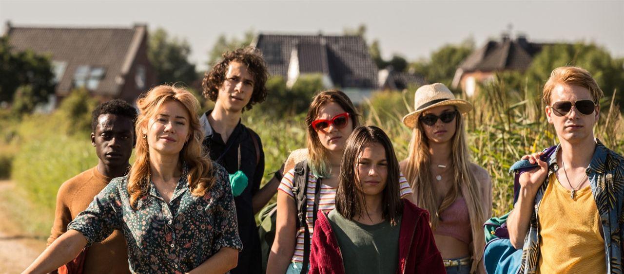 Get Lucky - Sex verändert alles : Bild Benny Opoku-Arthur, Bjarne Meisel, Emma-Katharina Suthe, Jascha Baum, Lilly Terzic