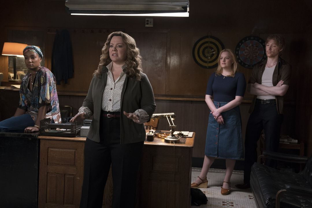 The Kitchen: Queens Of Crime : Bild Domhnall Gleeson, Elisabeth Moss, Melissa McCarthy, Tiffany Haddish