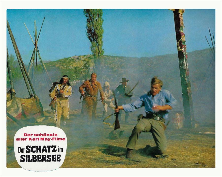 Der Schatz im Silbersee : Bild Lex Barker, Pierre Brice