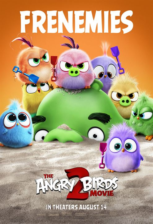 Angry Birds 2 : Kinoposter