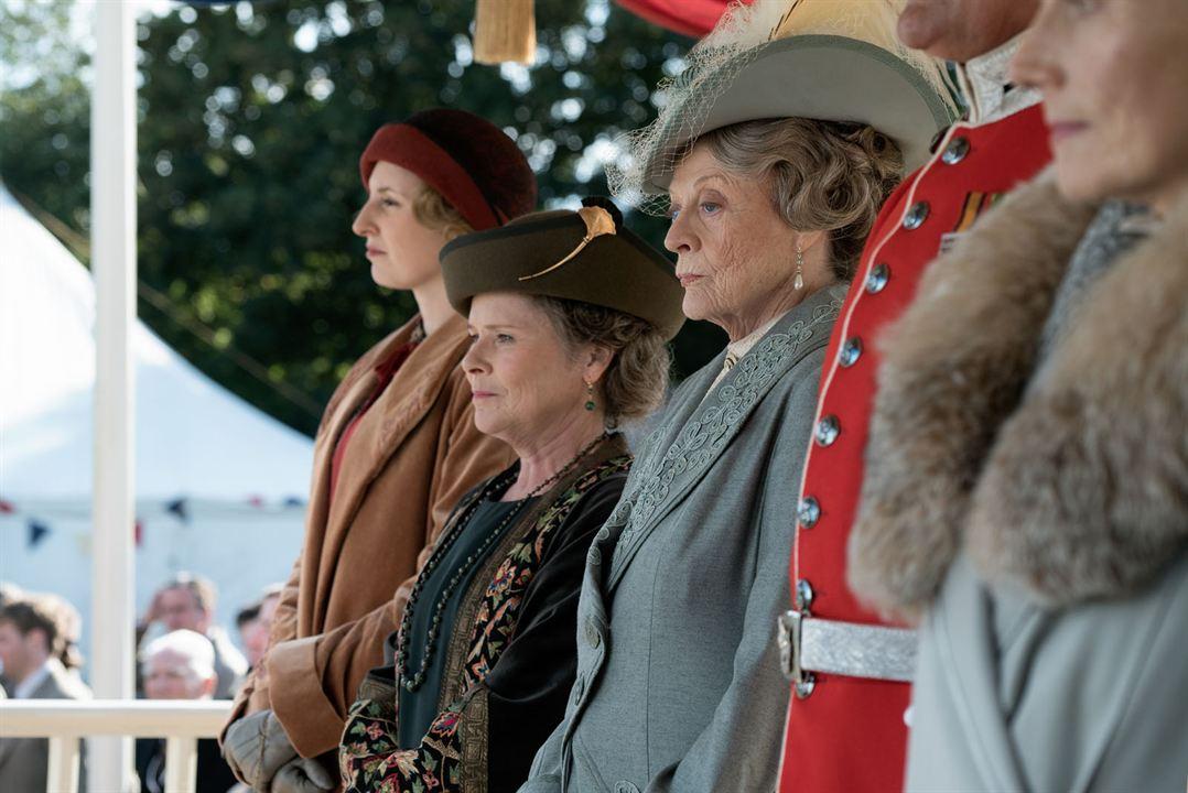 Downton Abbey : Bild Imelda Staunton, Maggie Smith