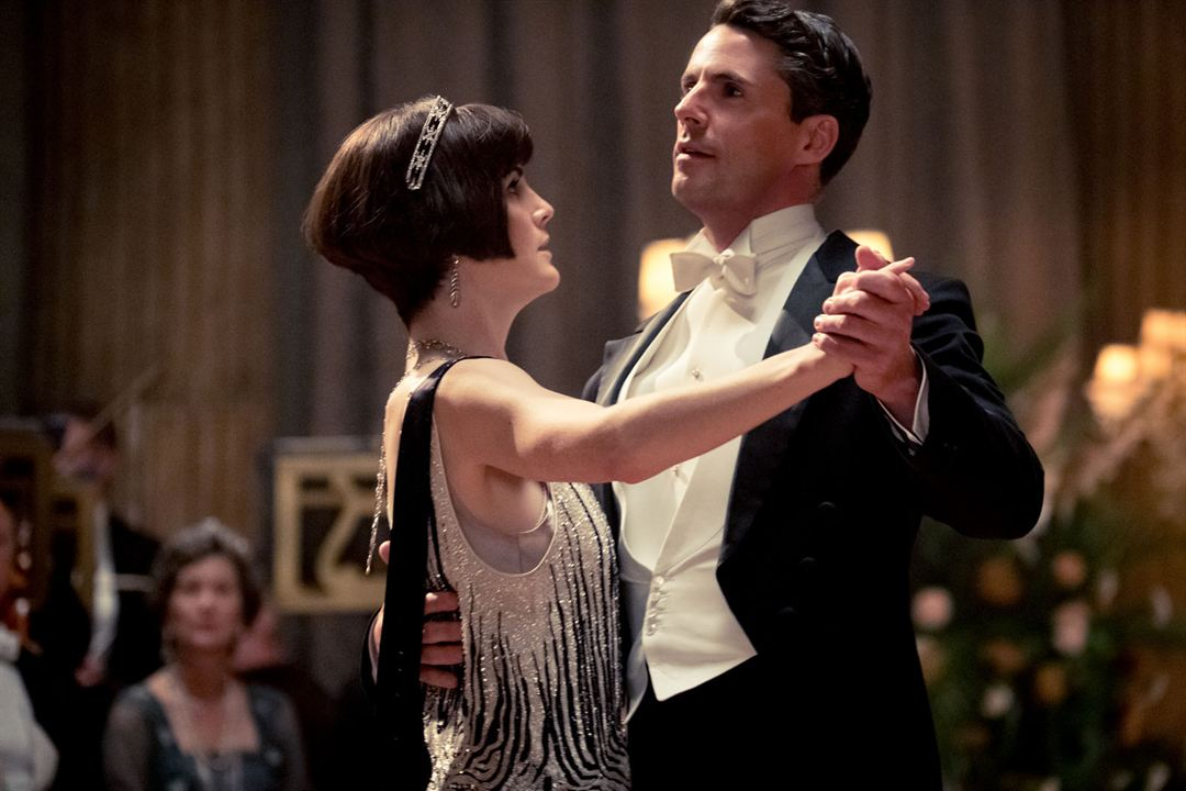 Downton Abbey : Bild Matthew Goode, Michelle Dockery