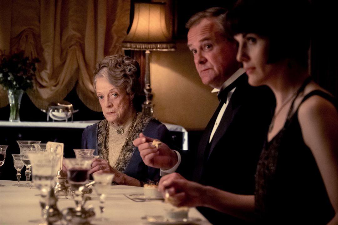 Downton Abbey : Bild Hugh Bonneville, Maggie Smith