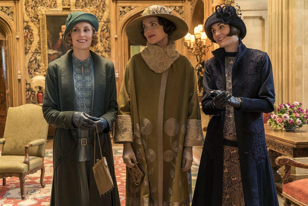 Downton Abbey : Bild Laura Carmichael, Michelle Dockery, Raquel Cassidy