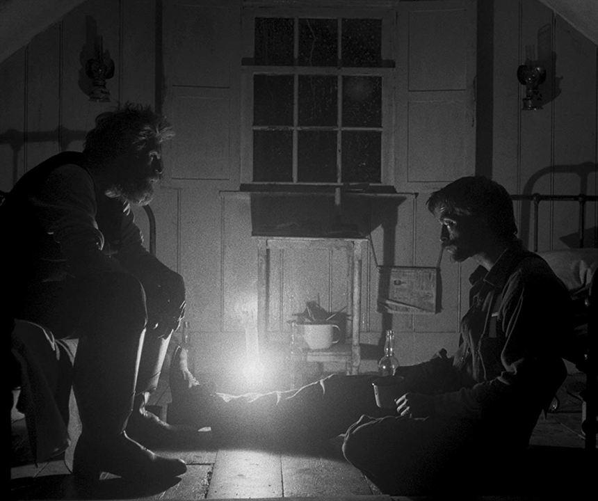 Der Leuchtturm : Bild Robert Pattinson, Willem Dafoe