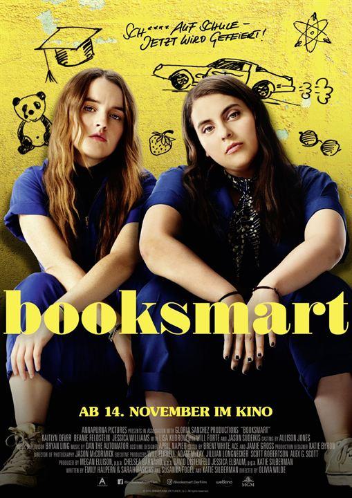 Booksmart : Kinoposter