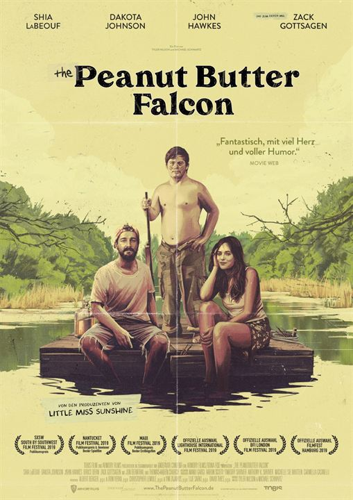 The Peanut Butter Falcon : Kinoposter