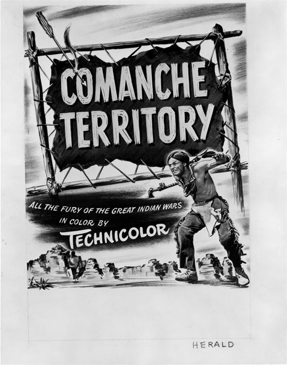 Im Lande der Comanchen : Bild