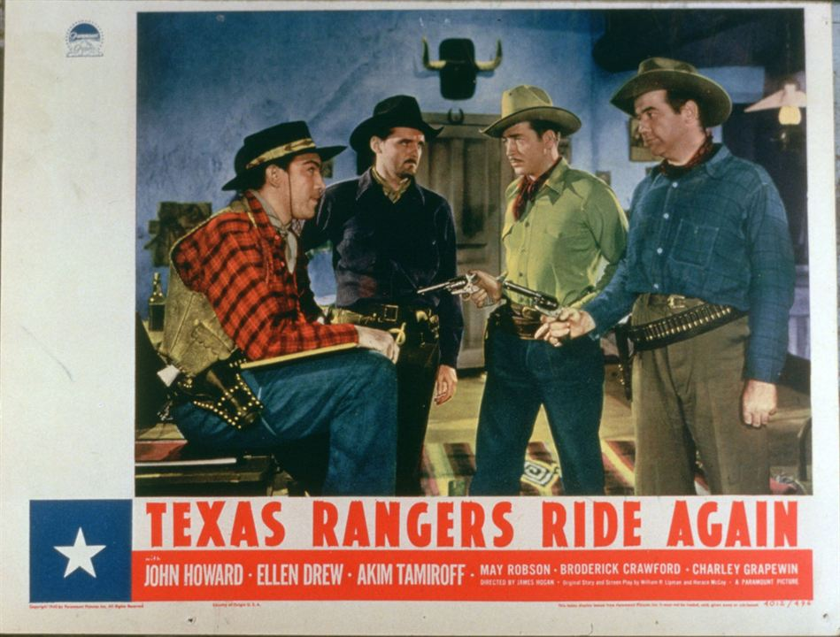 The Texas Rangers Ride Again : Bild