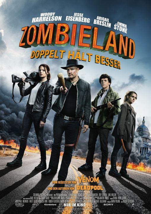 Zombieland 2: Doppelt hält besser : Kinoposter