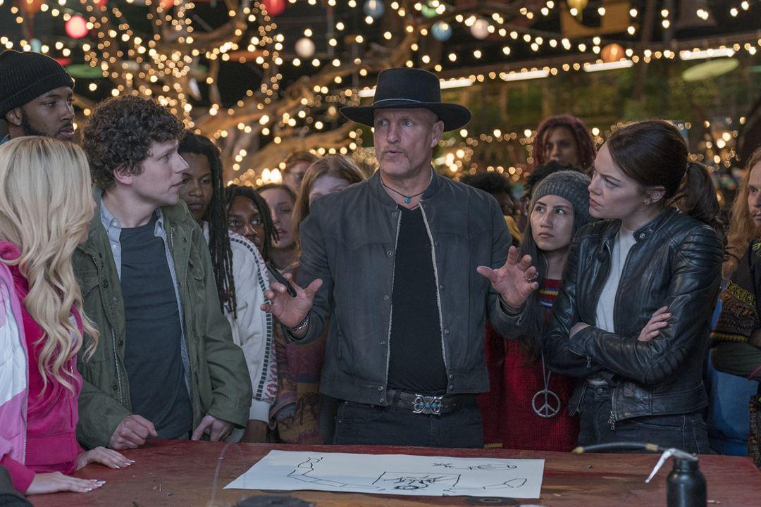 Zombieland 2: Doppelt hält besser : Bild Emma Stone, Jesse Eisenberg, Woody Harrelson