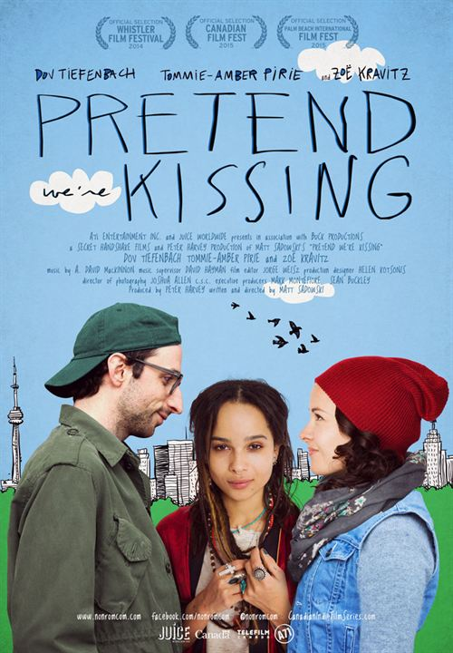 Pretend We're Kissing : Kinoposter