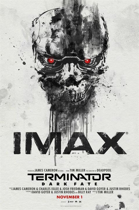 Terminator 6: Dark Fate : Kinoposter
