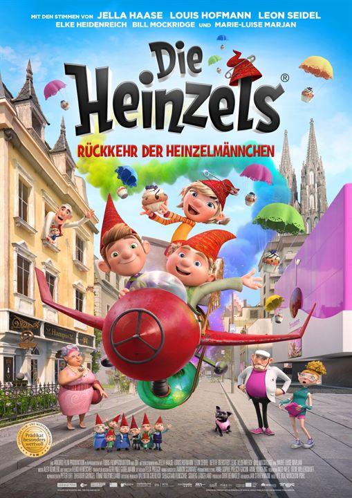 Die Heinzels - Rückkehr der Heinzelmännchen : Kinoposter