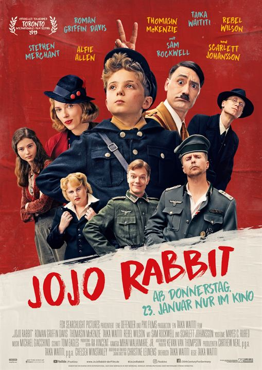 Jojo Rabbit : Kinoposter