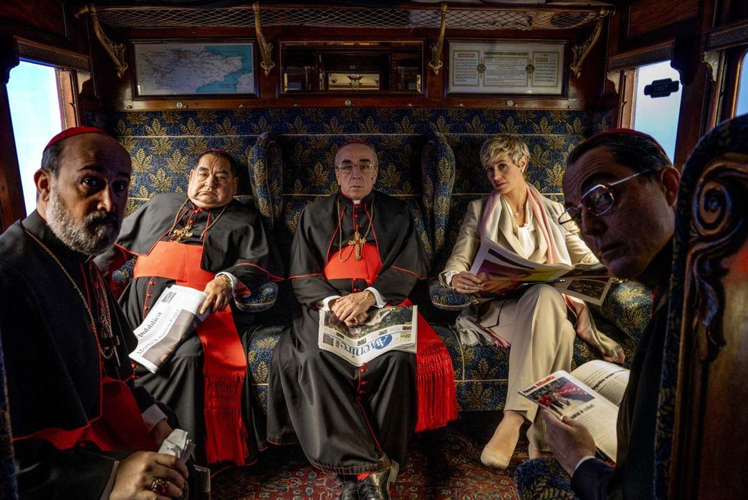 The New Pope : Bild Javier Cámara, Maurizio Lombardi, Silvio Orlando