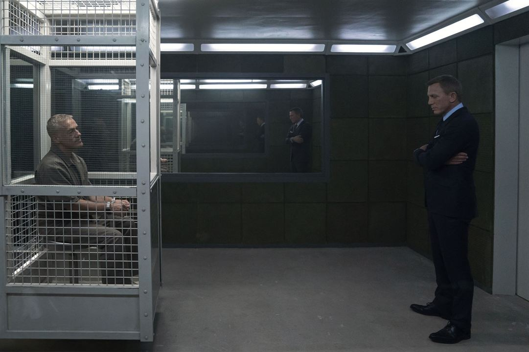 James Bond 007 - Keine Zeit zu sterben : Bild Christoph Waltz, Daniel Craig
