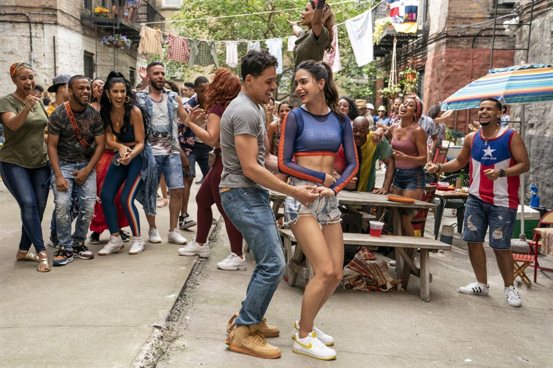 In The Heights : Bild Anthony Ramos, Melissa Barrera