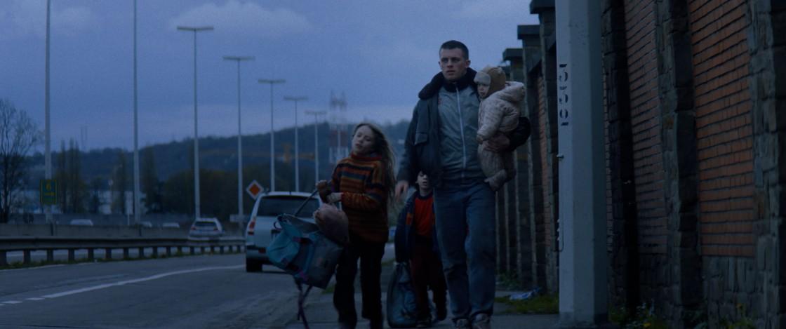 Kids Run : Bild Eline Doenst, Giuseppe Bonvisutto, Jannis Niewöhner