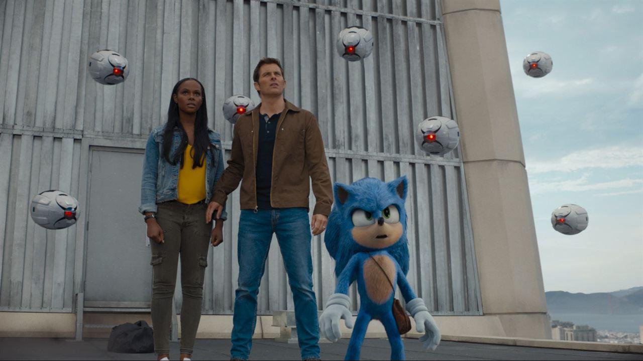Sonic The Hedgehog: James Marsden, Tika Sumpter