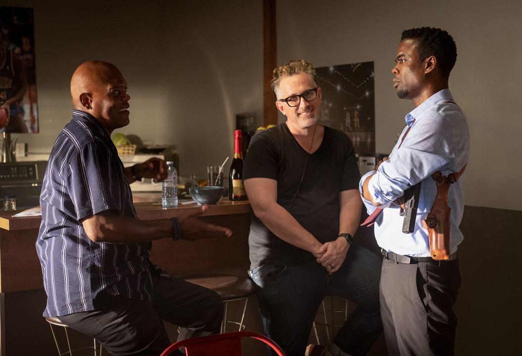 Saw 9: Spiral : Bild Chris Rock, Darren Lynn Bousman, Samuel L. Jackson