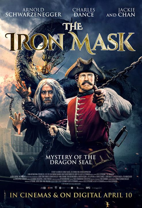 The Iron Mask : Kinoposter