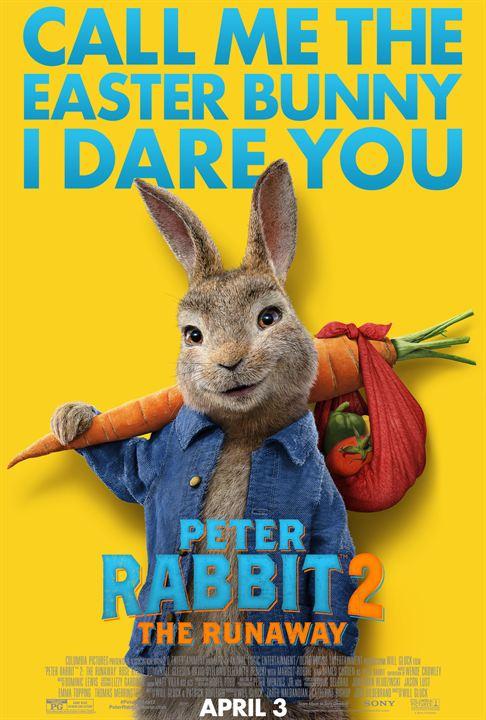 Peter Hase 2 - Ein Hase macht sich vom Acker : Kinoposter