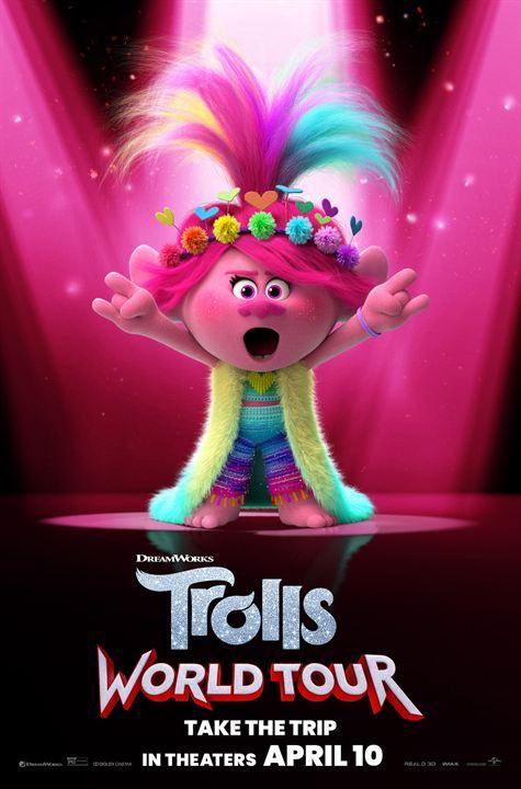 Trolls 2 - Trolls World Tour : Kinoposter