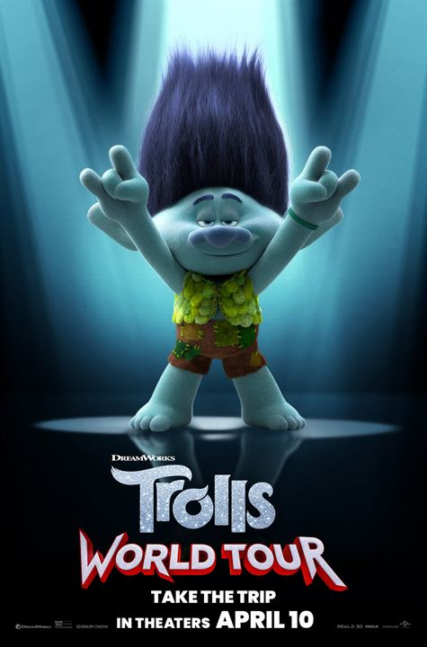 Trolls 2 - Trolls World Tour : Kinoposter