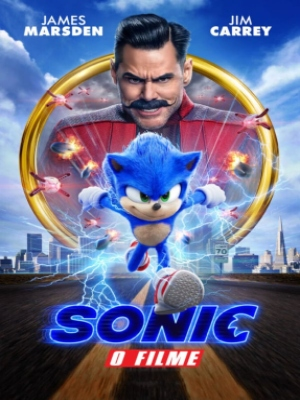 Sonic The Hedgehog : Kinoposter