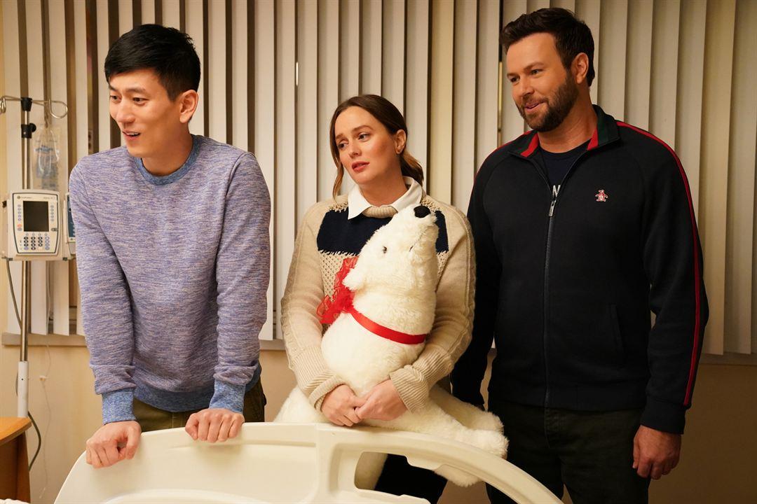 Bild Jake Choi, Leighton Meester, Taran Killam