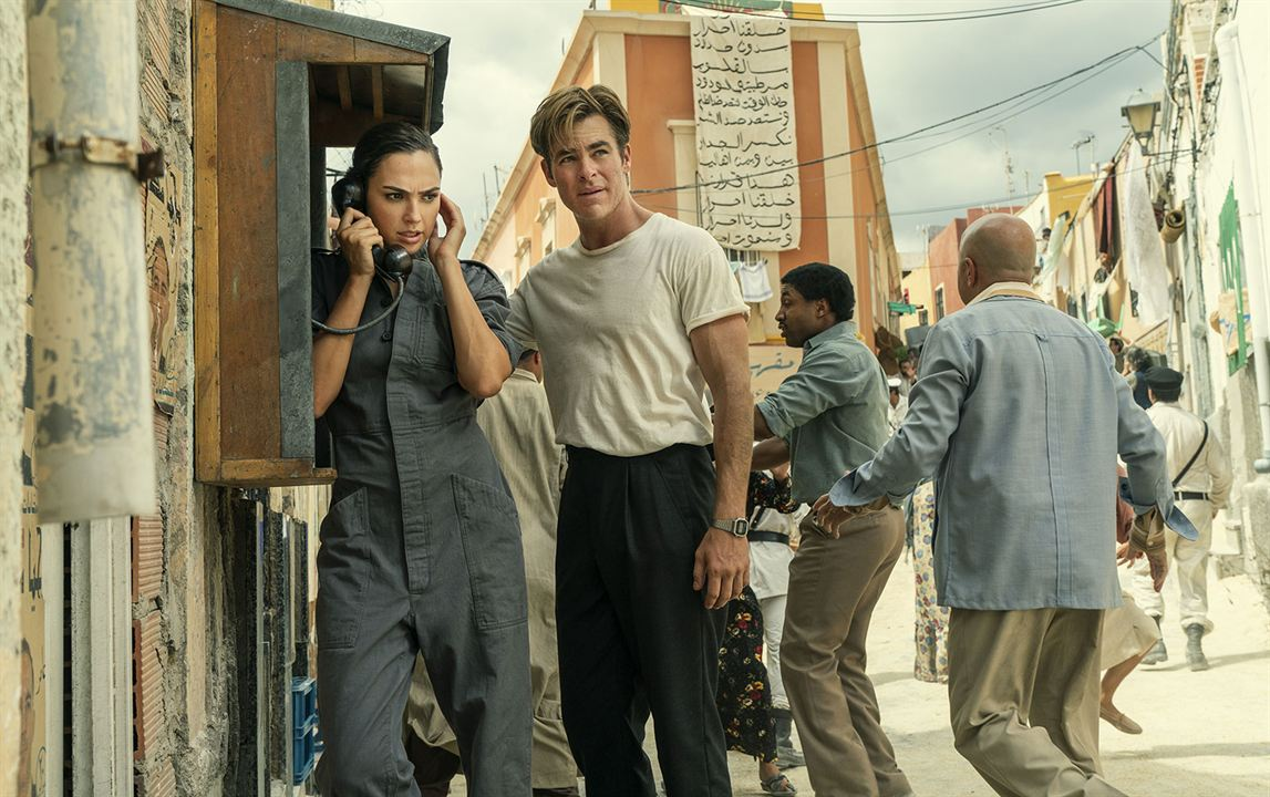Wonder Woman 1984 : Bild Chris Pine, Gal Gadot