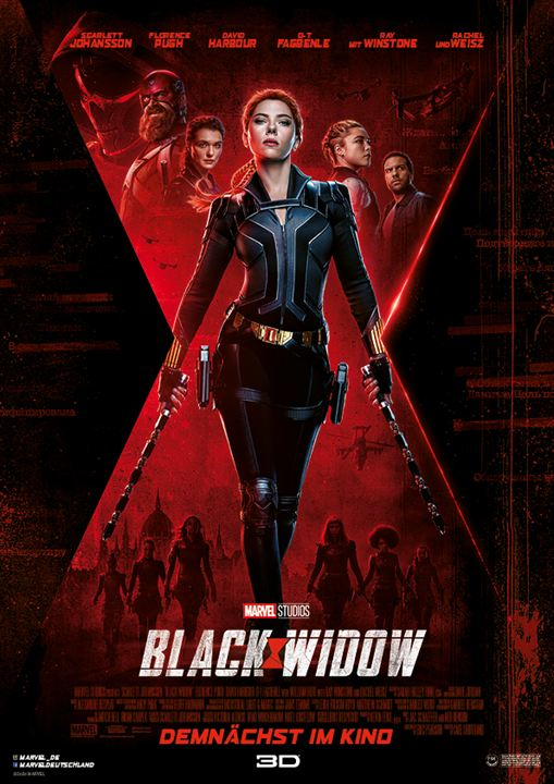 Black Widow : Kinoposter