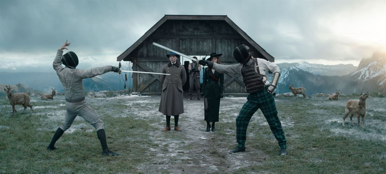 The King's Man: The Beginning : Bild Daniel Brühl, Valerie Pachner