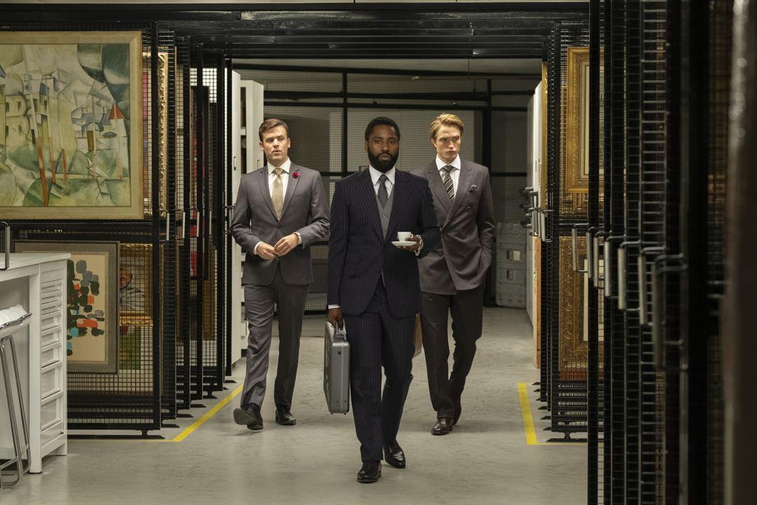 Tenet : Bild Jack Cutmore-Scott, John David Washington, Robert Pattinson