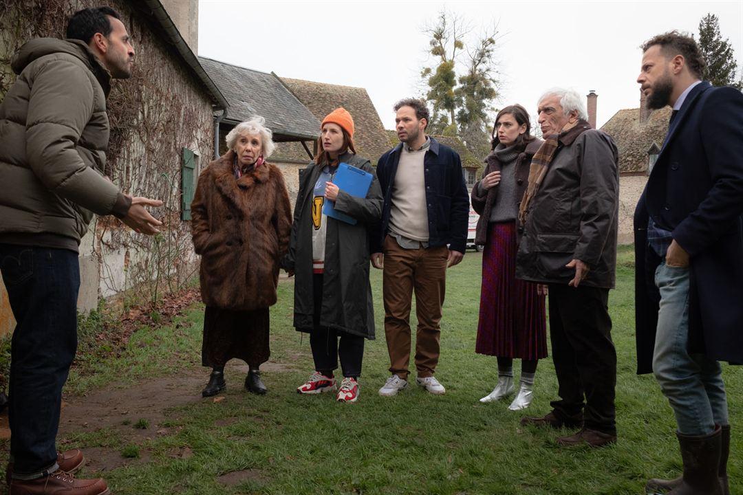 Bild Ali Marhyar, Gérard Darmon, Jonathan Cohen, Julia Piaton, Liliane Rovère